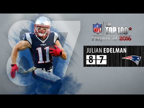 #87: Julian Edelman (WR, Patriots) | Top 100 NFL Players of 2016