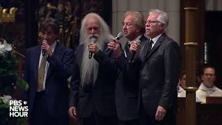WATCH: Oak Ridge Boys sing 'Amazing Grace' at George H.W. Bush Houston funeral