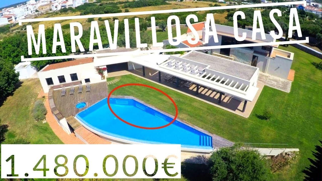 Chalet casa de campo en alayor menorca youtube - Inmobiliaria bonnin sanso ...