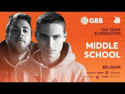 MIDDLE SCHOOL | Grand Beatbox Battle 2019 | Tag Team Elimination