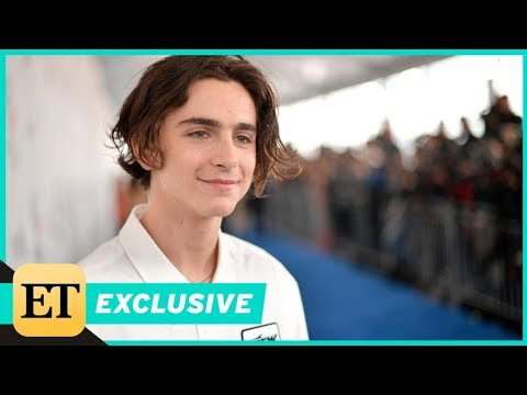 Timothee Chalamet Reacts to Jennifer Lawrence's Crush on Him (Exclusive) streaming vf