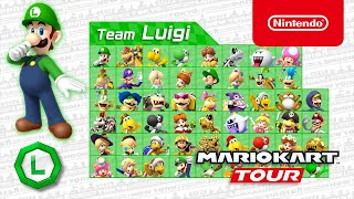 Mario Kart Tour - Team Luigi Drifts Into The Mario vs. Luigi Tour