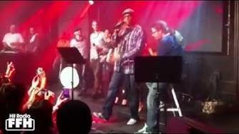 Xavier Naidoo - Überraschungskonzert im Club Gibson in Frankfurt