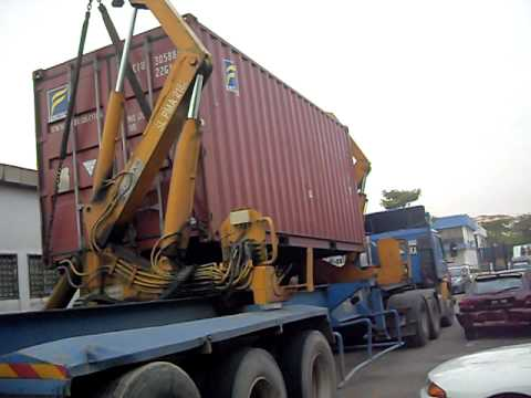 Side Loader Container Up Youtube