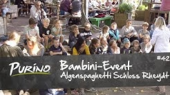 """PURiNO BAMBINI-EVENT """"Algenspaghetti Schloss Rheydt"""""""