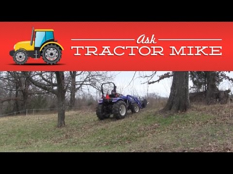 The Danger of Tractors on Hills - YouTube