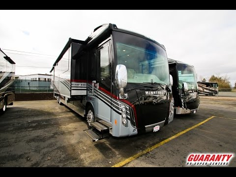 2017 Winnebago Grand Tour 45 RL Luxury Diesel Motorhome Video Tour • Guaranty.com