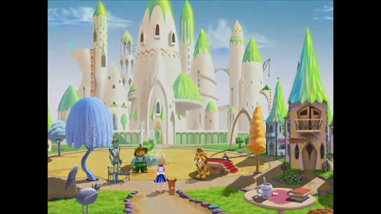Волшебник изумрудного города mp4