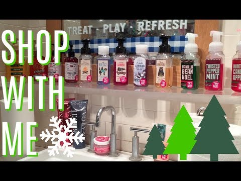 *LIVE* BATH & BODY WORKS SHOP WITH ME | CHRISTMAS SOAP REVIEW