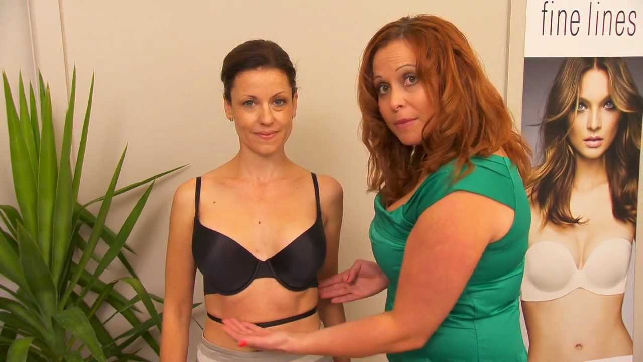 5aafb7df5f Fine Lines Lingerie - How To Convert A Convertible Bra - YouTube