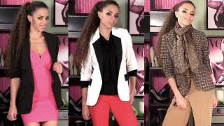 How to Wear a Blazer - 11 Outfits with Blazers! How to Style a Blazer