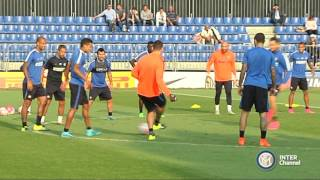 ALLENAMENTO INTER REAL AUDIO 11 09 2015