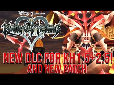 NEW DLC For Kingdom Hearts 1.5+2.5! New Cutscene, Theater Mode and More!