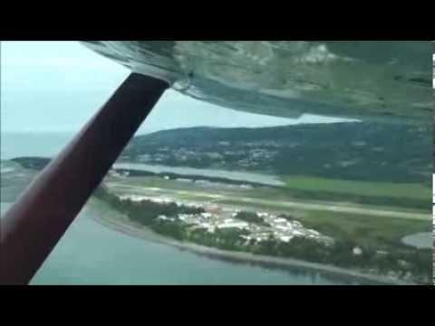 our flight to Hallo  Bay Bear Camp