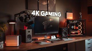 The SUPER 4K 144hz Gaming Monitor For Your Gaming Setup   Aorus FI32U Review