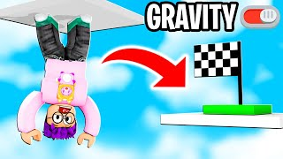 Can We Beat This ZERO GRAVITY ROBLOX OBBY?! (WE GOT SO DIZZY!)
