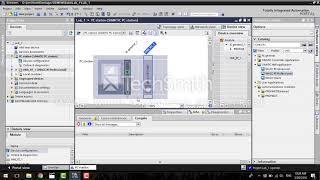 WinCC Professional TIA Portal. Создание проекта, начальные шаги (урок №1)