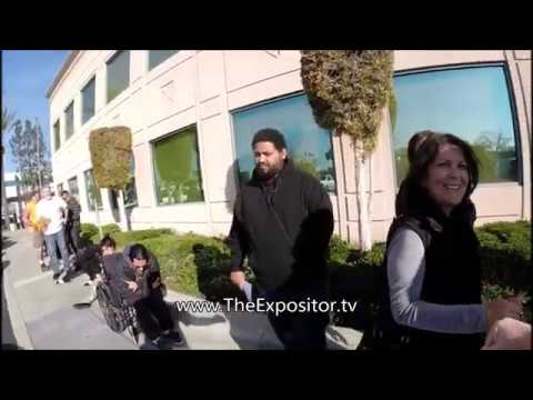 Angry man calls police on preacher, 2 ladies defend him, Satan's defeated; the LORD reins
