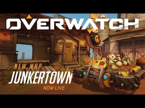 [COMING SOON] Junkertown | New Escort Map | Overwatch