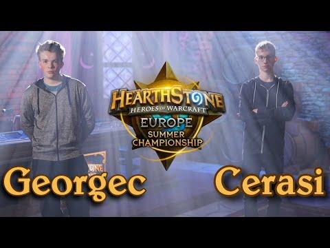 Georgec vs Cerasi - HCT 2016 Europe Summer Championship: Quarterfinal