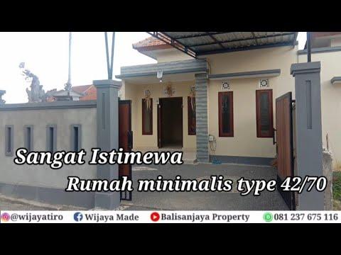 review rumah minimalis type 42/70 sangat istimewa - youtube
