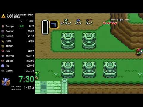 The Legend of Zelda: A Link to the Past - Any% in 1:54.55