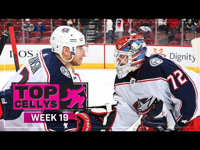 Top Cellys of the Week: Bobrovsky, Galchenyuk, Callahan