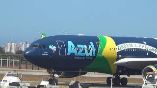 [SPOTTING FOR/SBFZ] Pouso em Fortaleza - Airbus A330-200 Azul 23/10