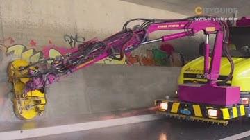 Flächenreinigung / Tunnelreinigung von Franz Pfister AG aus Zürich