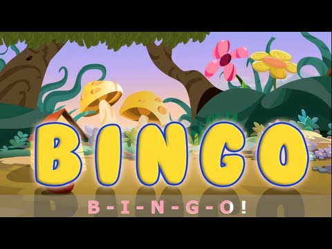 BINGO song with lyrics - Nursery Rhymes by EFlashApps