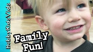 HobbyBaby Family FUN Times! Silly Memories with HobbyKids by HobbyKidsVids