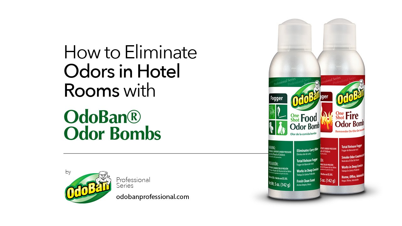 Eliminate Odors how to eliminate odors in hotel rooms with odoban® odor bombs