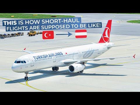 TRIPREPORT | Turkish Airlines (ECONOMY CLASS) | Istanbul Atatürk - Vienna | Airbus A321