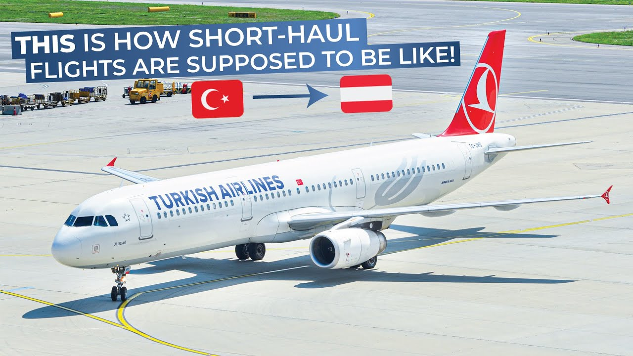 Tripreport turkish airlines economy class istanbul atat rk vienna airbus a321 youtube - Turkish airlines uk office ...