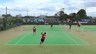 '18 関東学生ソフトテニス春季リーグ 第5対戦 1-1