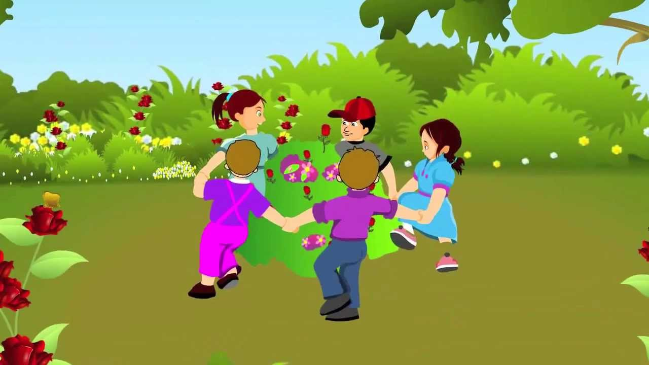 ringa ringa roses nursery rhyme cartoon animation songs