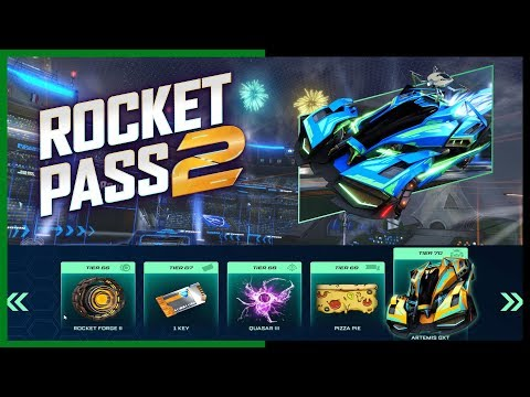 ROCKET LEAGUE ROCKET PASS 2 TRAILER  ALL ITEMS SHOWCASE AND RELEASE DATE thumbnail