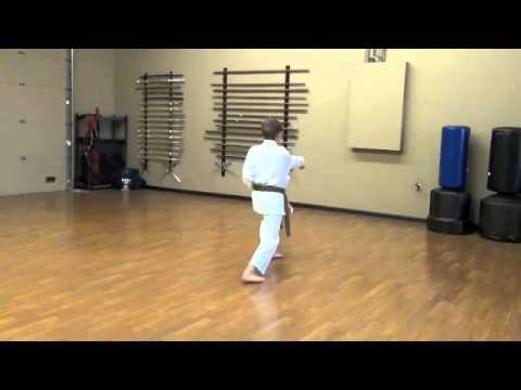 Lincoln Budokan, Heian Nidan Kenkojuku Shotokan Karate