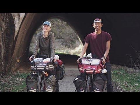 Adik Penyanyi Ternama Ini Bersepeda Dari Belanda Ke Indonesia Bersama Sang Kekasih