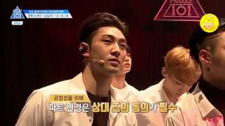 [0102CORNER] [Vietsub] Produce 101 season 2 ep 4 - Team 2 Boy in luv practice cut