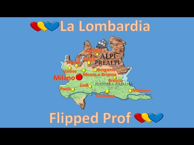 Cartina Economica Lombardia.La Lombardia In Quattro Minuti Youtube