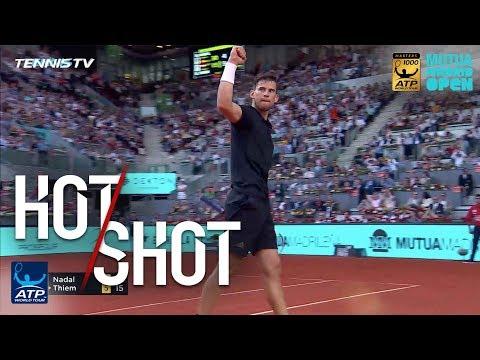 Hot Shot: Thiem Tames Nadal Barrage In Madrid 2018