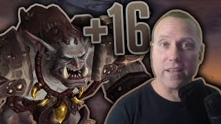 WHAT I WANT IN CLASSIC - Tanking Mythic+ 16 Neltharion's Lair Highlights - Legion 7.3.2