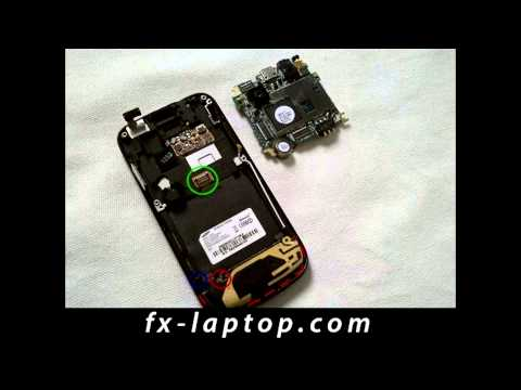 Disassembly Samsung Jet S8000 - Battery Glass Screen Replacement