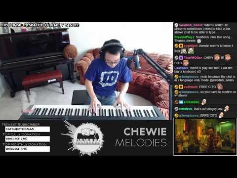 Luis Fonsi ft. Daddy Yankee - Despacito Piano Playover Cover