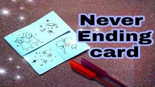 DIY Never Ending Card / Endless Card /Very Easy Tutorial