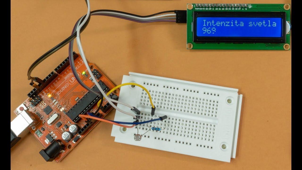 40ac0c107c357 IoT Arduino analógové vstupy a displeje - YouTube