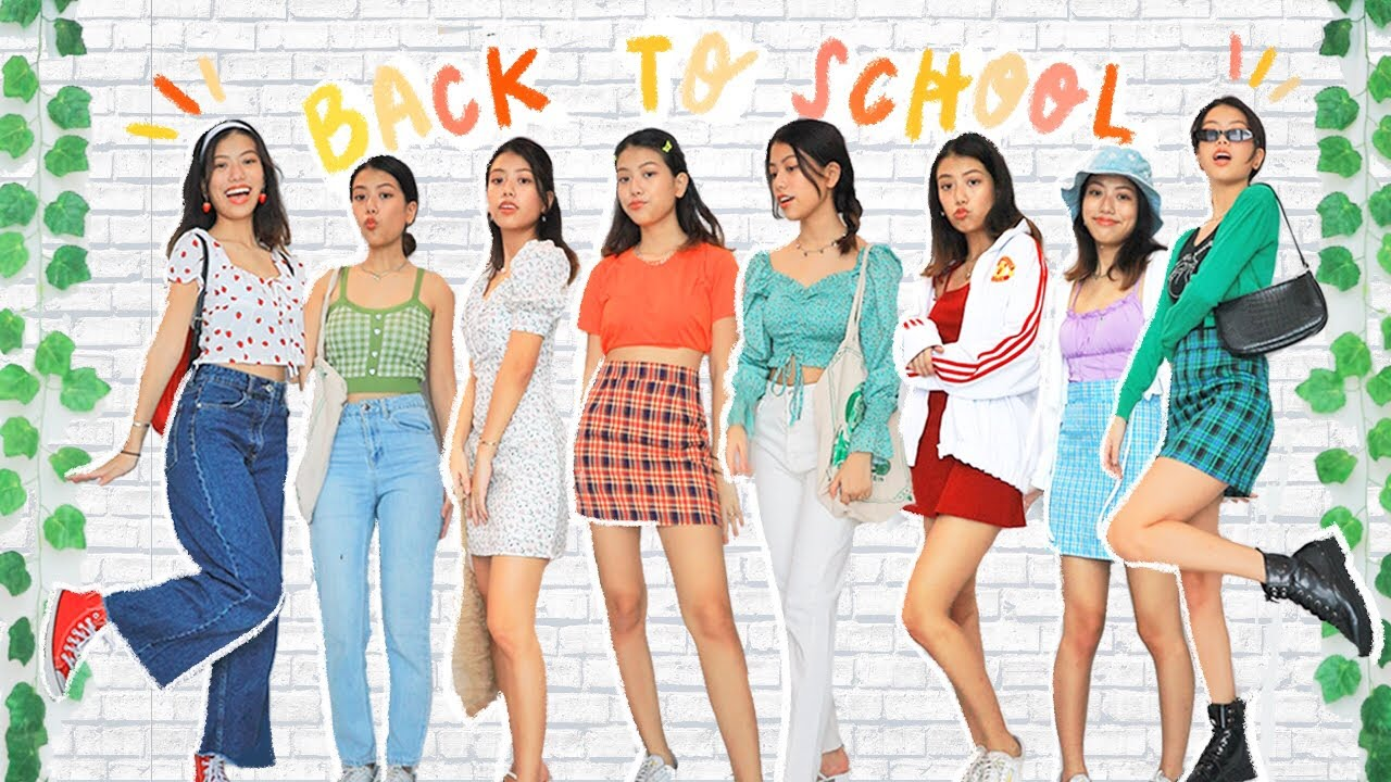 WHAT I'D WEAR BACK TO SCHOOL + y2k cartoons lookbook 🦋