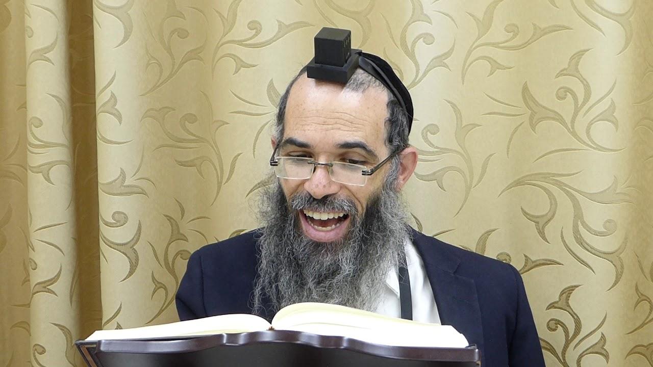 """הרב אלחנן לבהר חיזוק יומי פרשת שבוע עקב ד' תשע""""ט"""