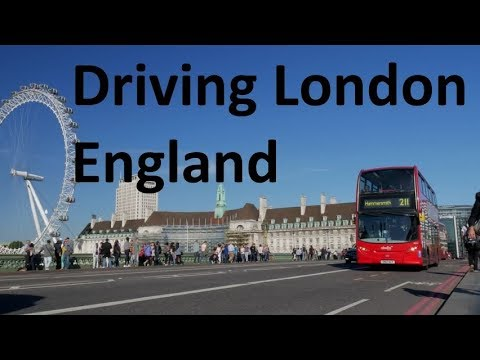 Driving London England